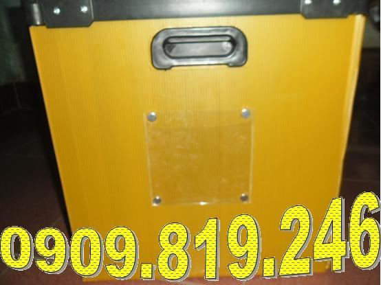 Thùng carton nhựa sute04 có name card