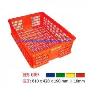 Thùng nhựa hở HS009