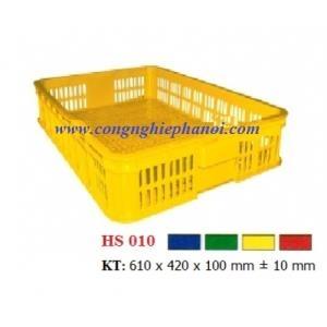 Thùng nhựa hở HS010