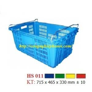 Thùng nhựa hở HS011