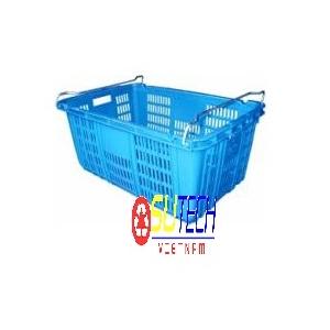Thùng nhựa hở HS011 - SH có quai