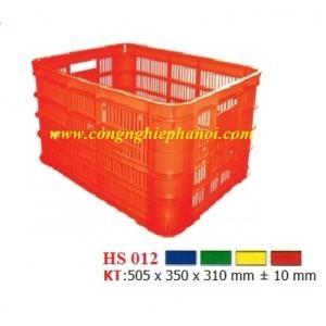 Thùng nhựa hở HS012