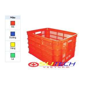 Thùng nhựa hở HS012 - SH