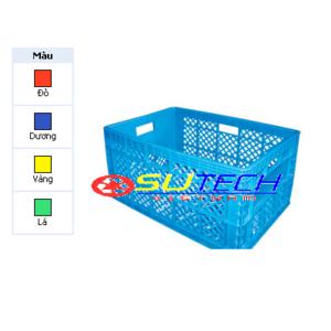Thùng nhựa hở HS013 - SH