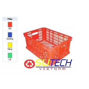 Thùng nhựa hở HS018 - SH