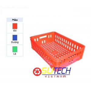 Thùng nhựa hở HS020 - SH