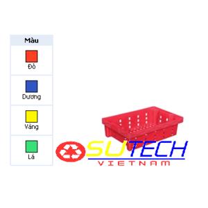 Thùng nhựa hở HS027 - SH