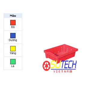 Thùng nhựa hở HS033 - SH