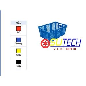 Thùng nhựa hở HS034 - SH