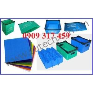 Tấm nhựa pp màu xanh hoà bình