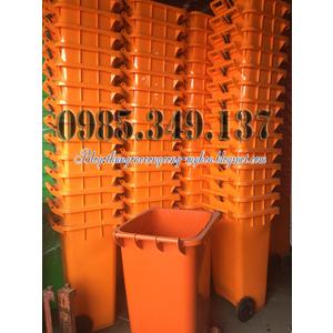 Thùng rác 120 lít, 240 lít rẻ nhất Việt Nam