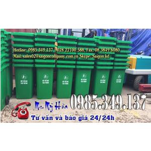 GIẢM GIÁ Thùng rác công cộng 120 lít chỉ còn 490k