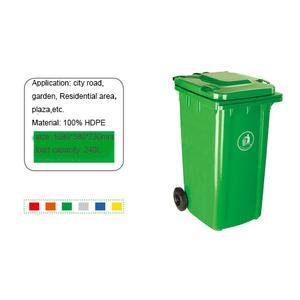 Thùng rác 240 lít giá rẻ