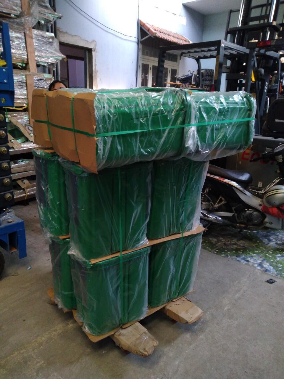 thùng rác 2 ngan 40l, thùng rác 40l giá rẻ, thùng rác gia đình,