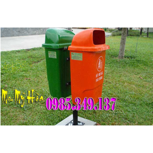 Phân phối thùng rác treo đôi giá cạnh tranh tại quận 12, quận 10, quận 8