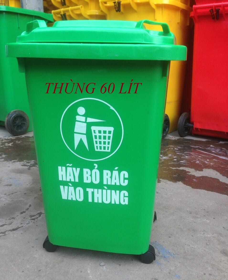 thùng đựng rác , thùng rác 60 lít , thùng nhựa chứa rác, thùng rác mini , thùng rác gia đình