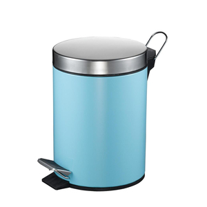 Thùng rác binko 9625 màu xanh 5lit-12lit