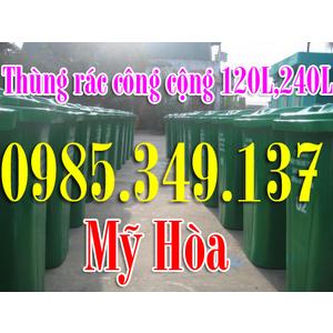Thùng rác công cộng 120 lít, 240 lít , 660 lít giá rẻ