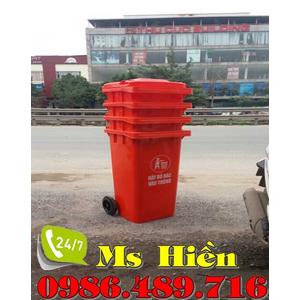 Thùng rác công cộng 120 lít Thái Lan