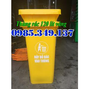 Thùng rác công cộng 120 lít - xả kho tại sài gòn