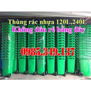 Thùng rác công cộng 120L, 240L, 660L Hàng bán giá gốc