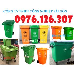 Thùng rác công cộng 60l, 120l, 240l, Xe đẩy rác 400l, 660l-Cam kết giá rẻ nhất thị trường. Liên hệ 0989.483.457 để được tư vấn và báo giá