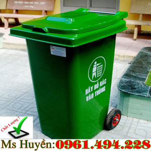 Thùng rác công cộng tại Thủ Đức ( Hồ Chí Minh) 120 lit 240 lit HDPE giá rẻ