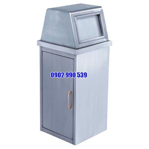 Thùng rác inox ngoài trời giá rẻ