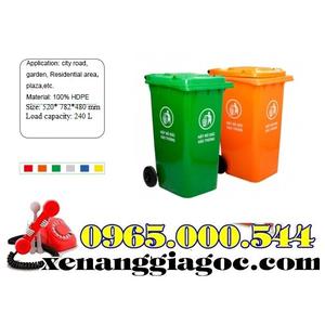 Thùng rác nhựa 100 lít chất lượng xin giá cạnh tranh