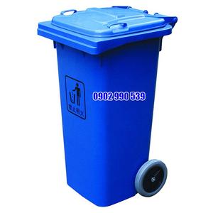Thùng rác nhựa 240L HDPE có bánh xe