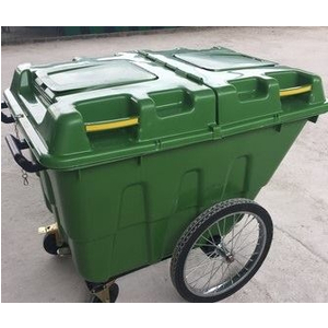 Xe đẩy rác, thùng rác công cộng 400 lít-Giá siêu rẻ 0989.483.457