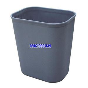 Thùng rác nhựa hình chữ nhật 8L