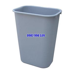 Thùng rác nhựa không nắp 24L