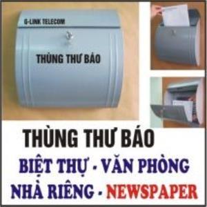 Thùng thư báo biệt thự Newspaper HTC-1011