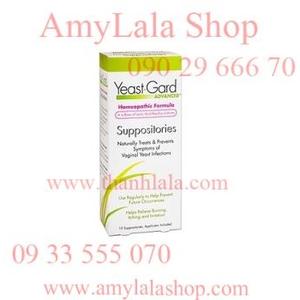 Viên đặt se khít viêm âm đạo YeastGard Homeopathic Suppositories - 0933555070 - 0902966670 -