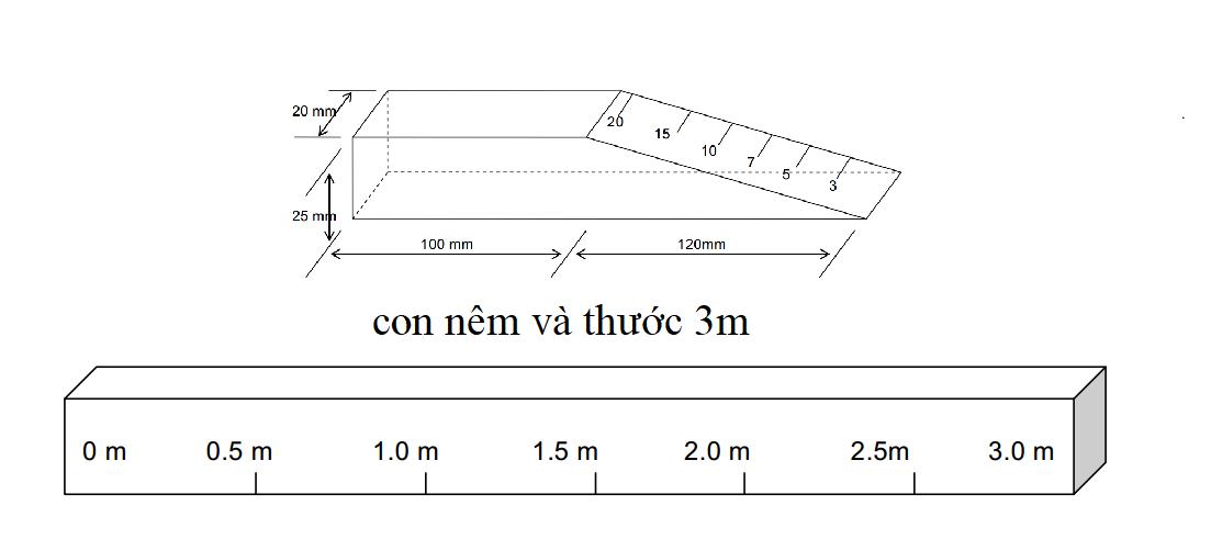 thước 3m