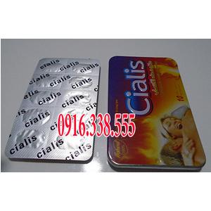 Thuốc Cương Dương 10 viên Cialis 3800 mg thảo Dược