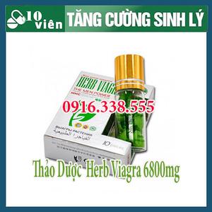 THUỐC Cương dương Dạng Viagra 6800MG USA Thảo dược HỖ TRỢ Cd hiệu quả Biệt Chất 6800MG