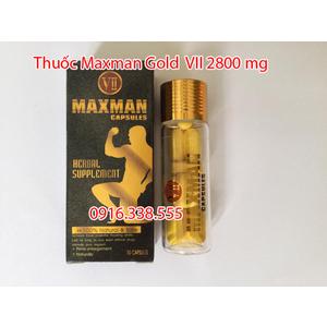 Thuốc Cường Dương Maxman 2800 mg Capsules Herbal Supplement VII