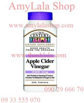 Thuốc giảm cân APPLE CIDER VINEGAR (Made in USA) - 0933555070 - 0902966670 :