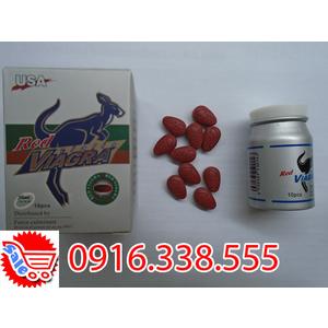 Thuốc Red Viagra 200 mg (4008 USA ) Hỗ Trợ Trị rối loạn chức năng cương dương