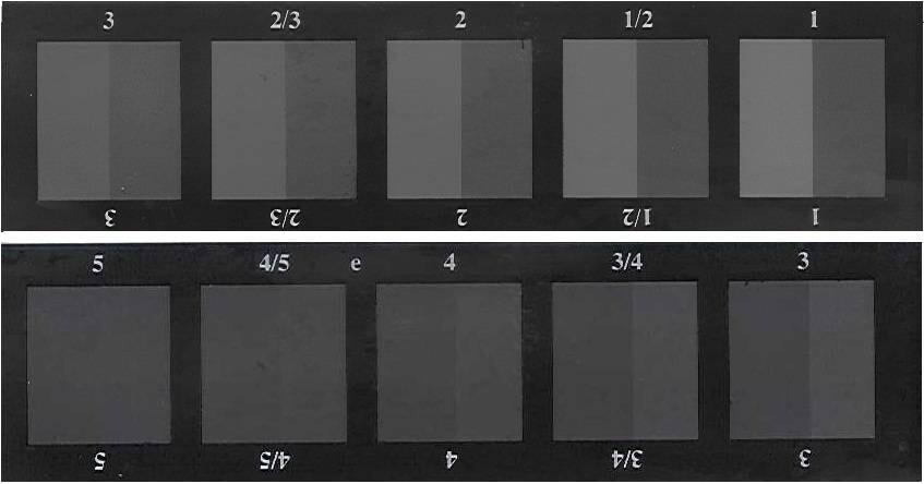 Thuoc xam A02 danh gia su thay doi mau sac gray scale for change color