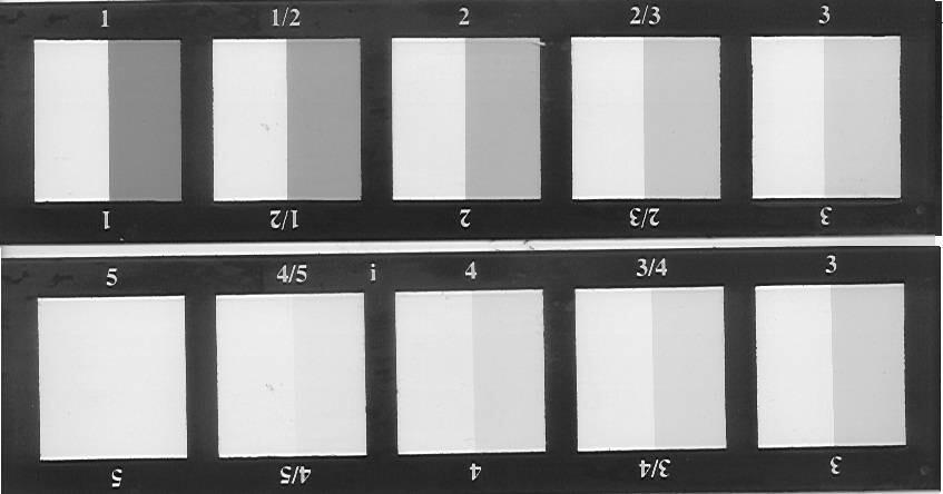 Thước xám ISO đánh giá sự dây màu và thay đổi màu