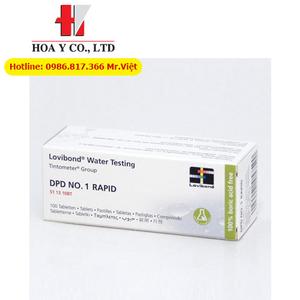 Thuốc thử CHLORIDE T1 Lovibond 515910BT đo Chloride 5-250 mg/l