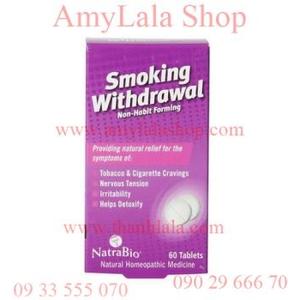 Thuốc viên Smoking Withdrawl giúp cai thuốc lá hiệu quả - 0933555070 - 0902966670 :