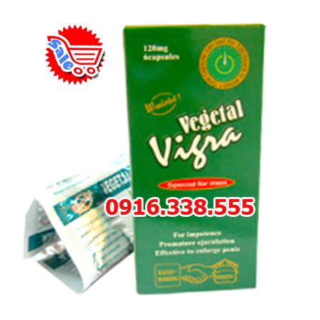 Thuốc Viagra thảo dược Vegetal Vigra 120 Mg