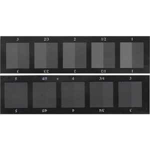 Thước xám AATCC đánh giá sự dây màu và thay đổi màu