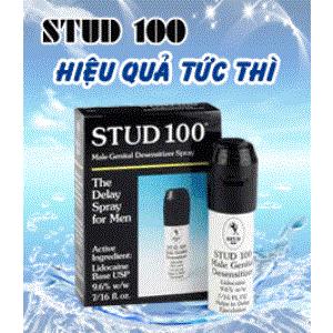 Thuốc xịt Stud 100 Male Genital Desensitizer ngăn xuất tinh sớm