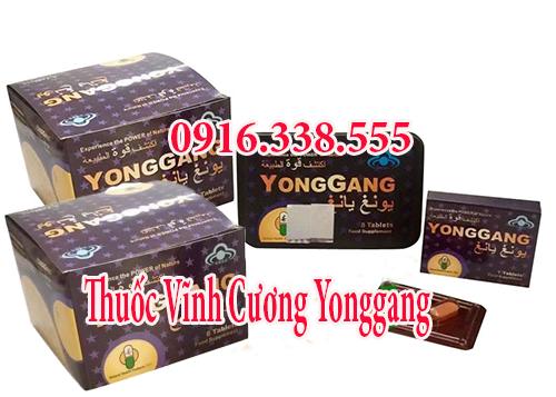 Thuốc YongGang Vĩnh Cương Bổ Thận Set 10 hộp sỉ lẻ cho chàng U40 trung niên bản lĩnh