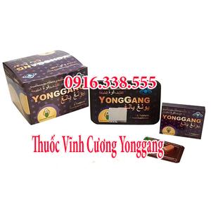 Nhà phân phối thuốc cường dương Vĩnh Cương YongGang Set 5 Hộp chính hãng